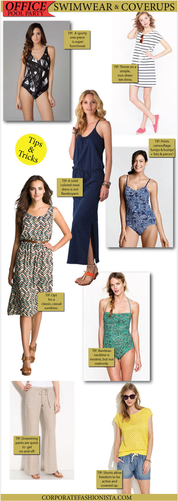 986976462095e What To Wear To The Company Pool Party - Corporate Fashionista