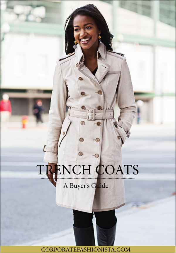 cfd08a880bea How To Buy A Trench Coat - Corporate Fashionista