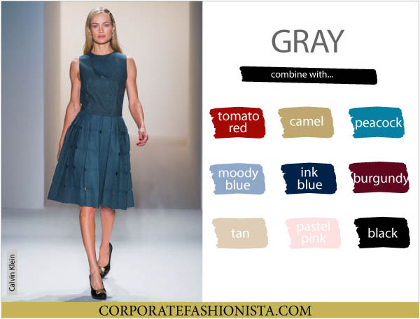 Color Coordinate Your Fall Wardrobe Like A Pro Cf S Compatibility Charts Gray